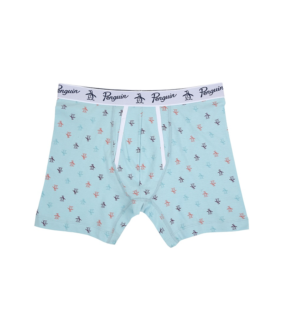 Original Penguin Penguin Boxer Brief Crystal Blue Mens Underwear