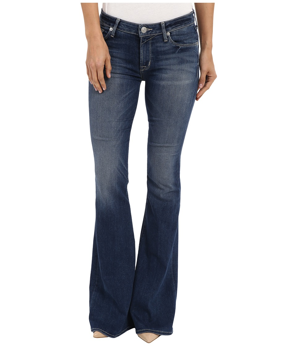Hudson Mia Mid Rise Flare in Del Mar Del Mar Womens Jeans