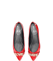 LOVE Moschino - Love Hate Ballerina Flat