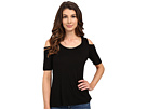 Rayon Jersey Cold Shoulder