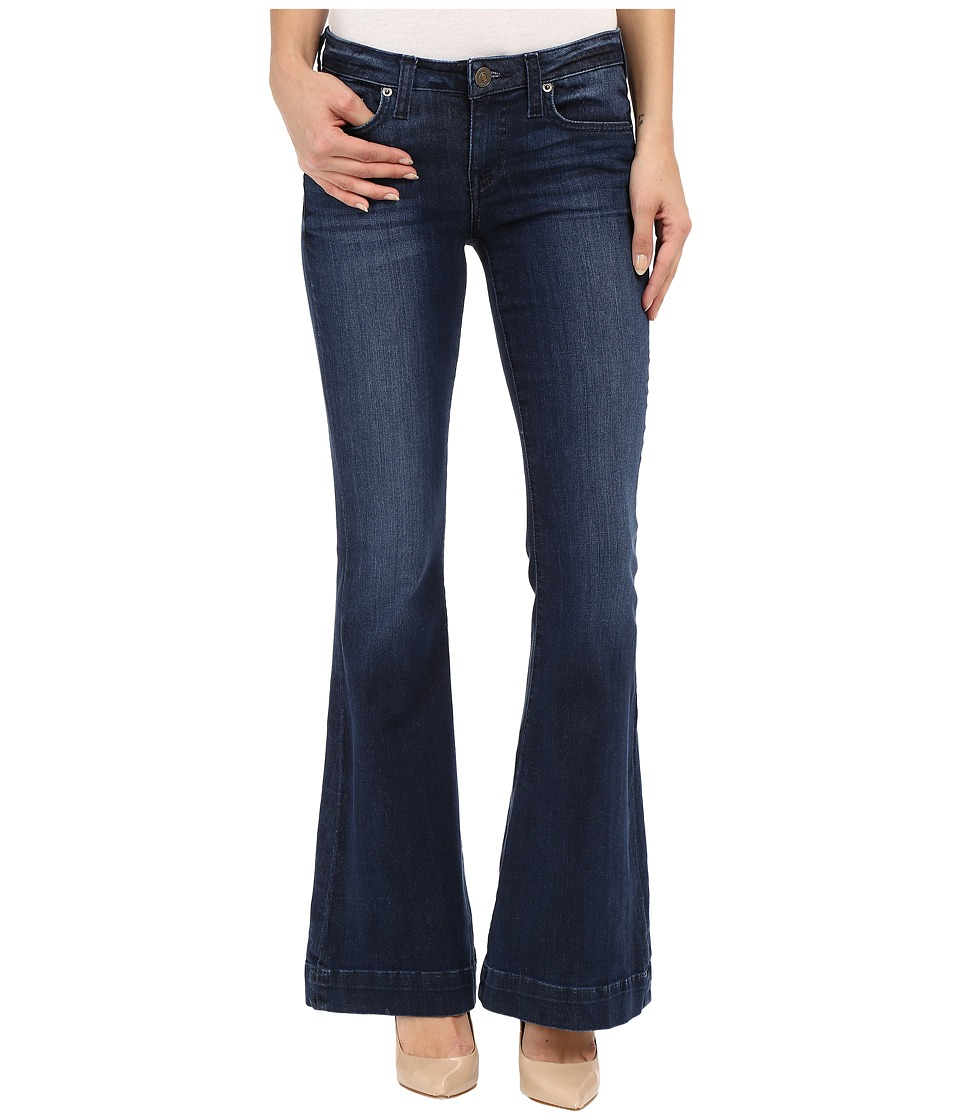 Hudson Mia Barefoot Length Flare in Canal Canal Womens Jeans