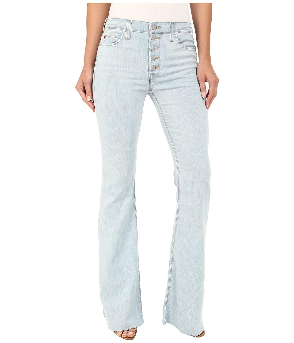 Hudson Jodi High Waist Flare with Raw Hem in Slater Slater Womens Jeans
