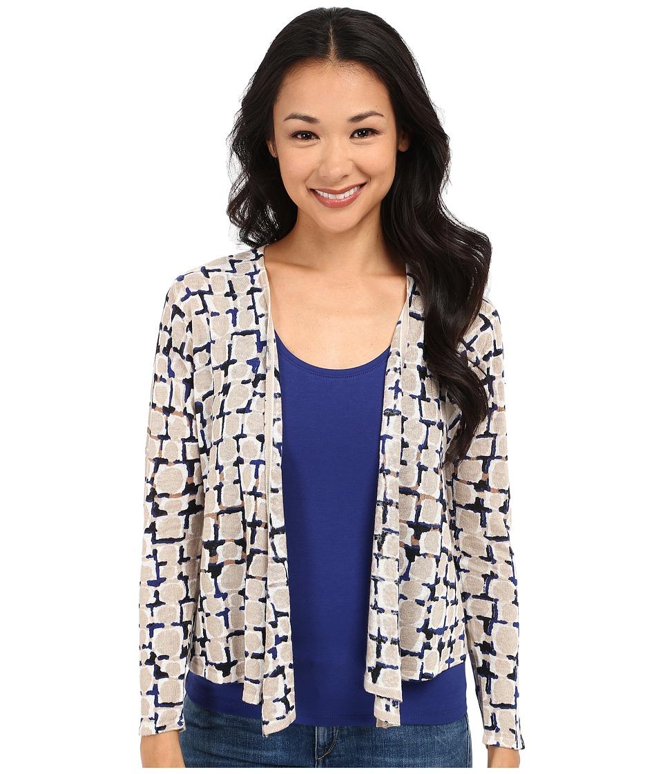 NICZOE Petite Loopy 4 Way Cardy Multi Womens Sweater