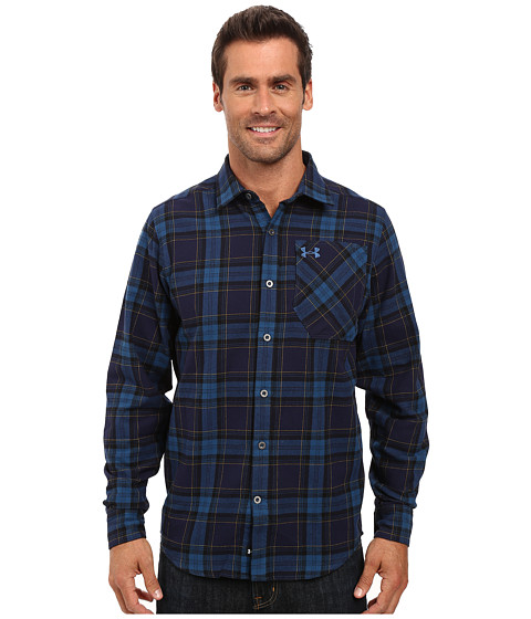 Under Armour UA Borderland Flannel - Deep Sea