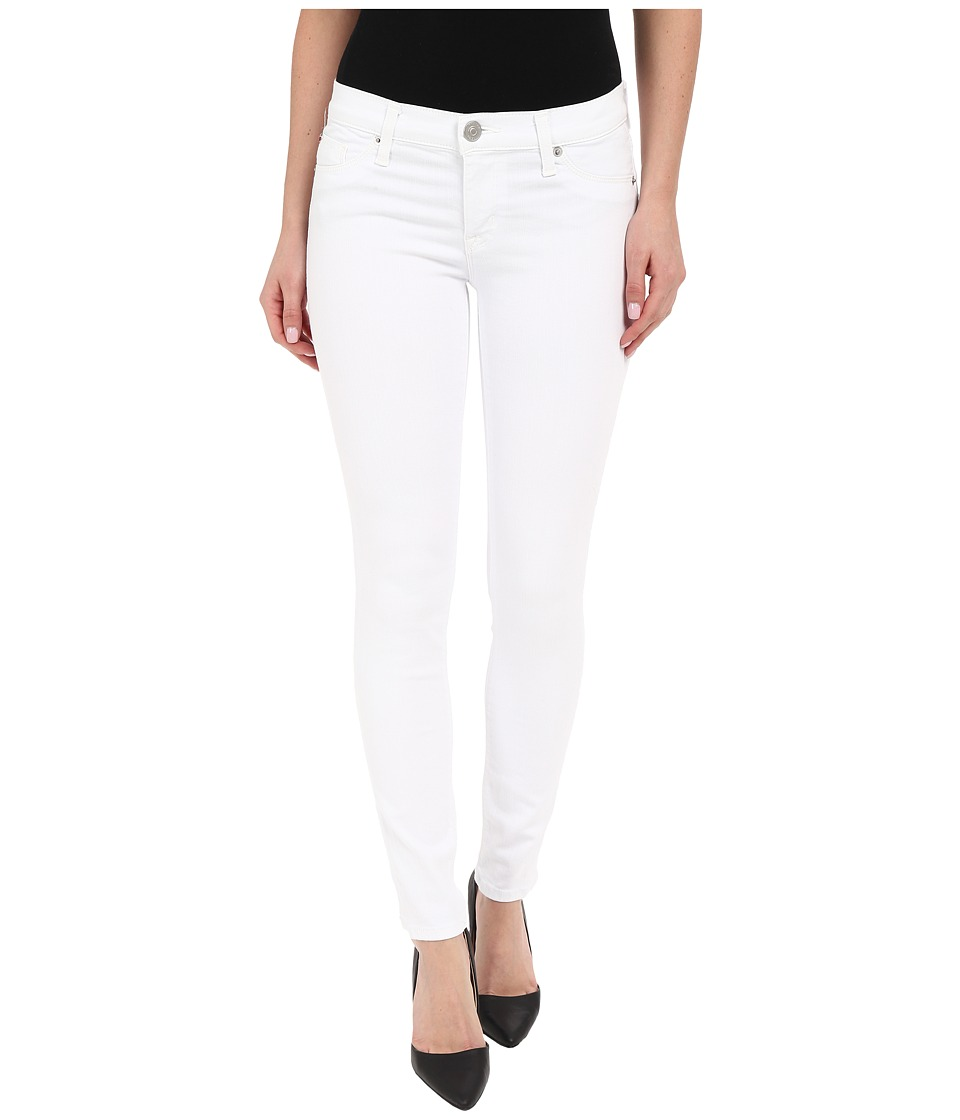 Hudson Krista Ankle Skinny in White White Womens Jeans