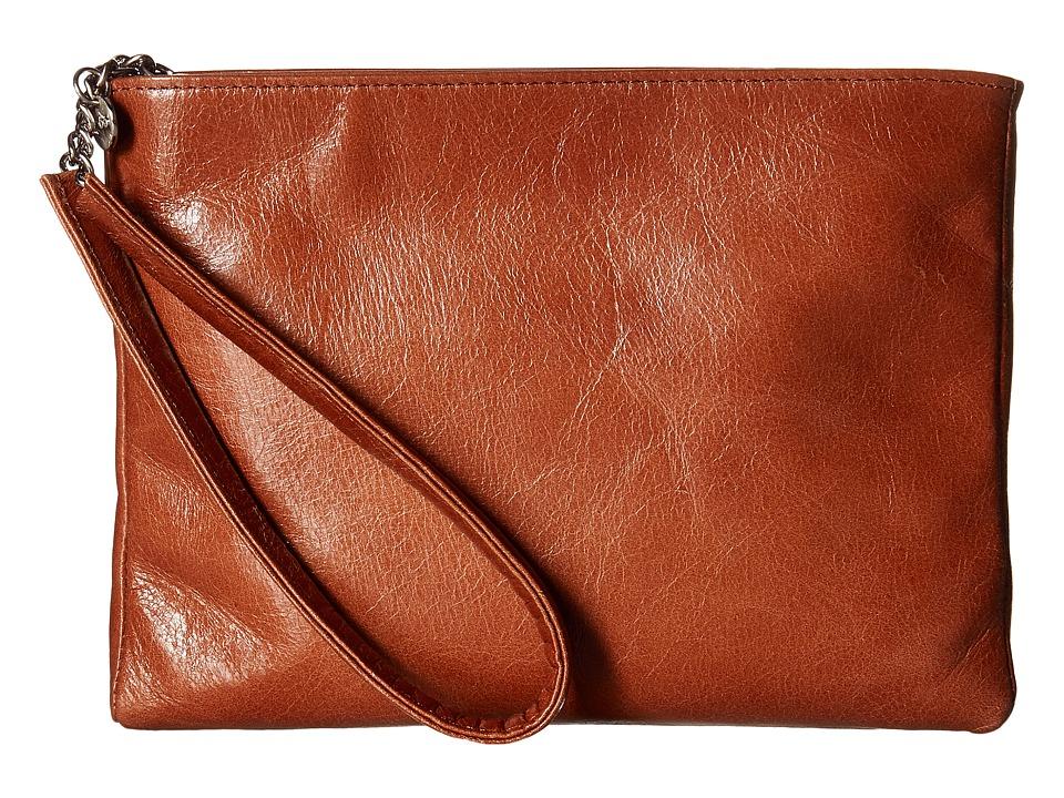 Hobo - Emery (Henna) Clutch Handbags