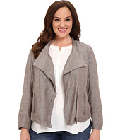 NIC+ZOE - Plus Size Sundown Moto Jacket