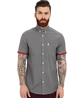 Ben Sherman - Short Sleeve Tipped Sleeve Gingham MA12556A
