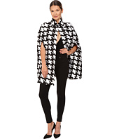 DSQUARED2 - Pied De Poule Jaquard Babewire Jacquard Cape Top