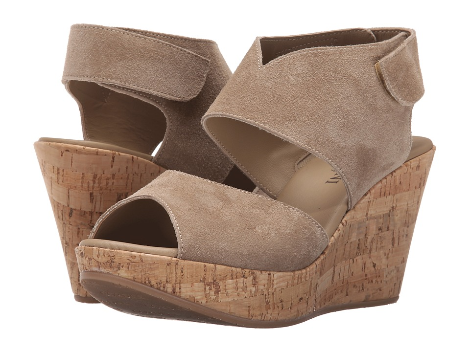 Cordani - Rhonda (Taupe Suede/Cork) Womens Wedge Shoes