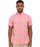 Ben Sherman - Short Sleeve Plain Linen Woven MA12430A