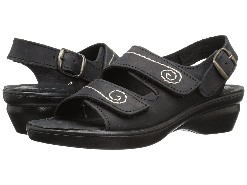Spring Step Belamar (Black Nubuck) Women