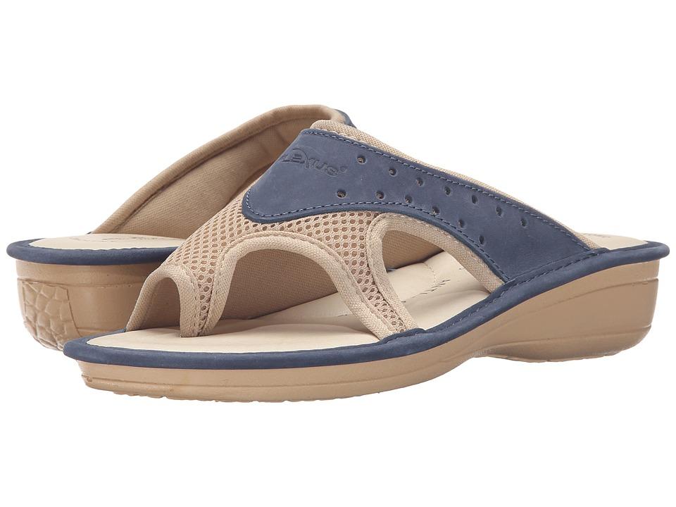 Flexus Pascalle Blue Womens Shoes