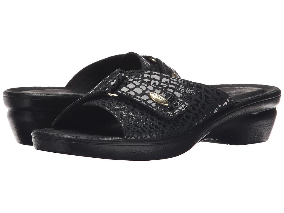 Flexus Carrie Black Womens Shoes