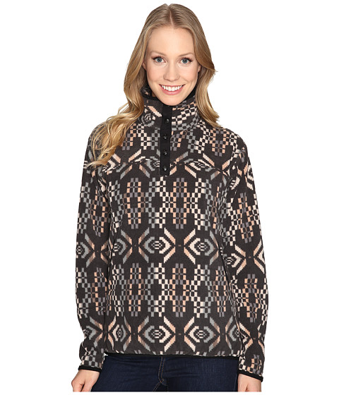 Woolrich Trail Blazing Printed Pullover - Matte Gray