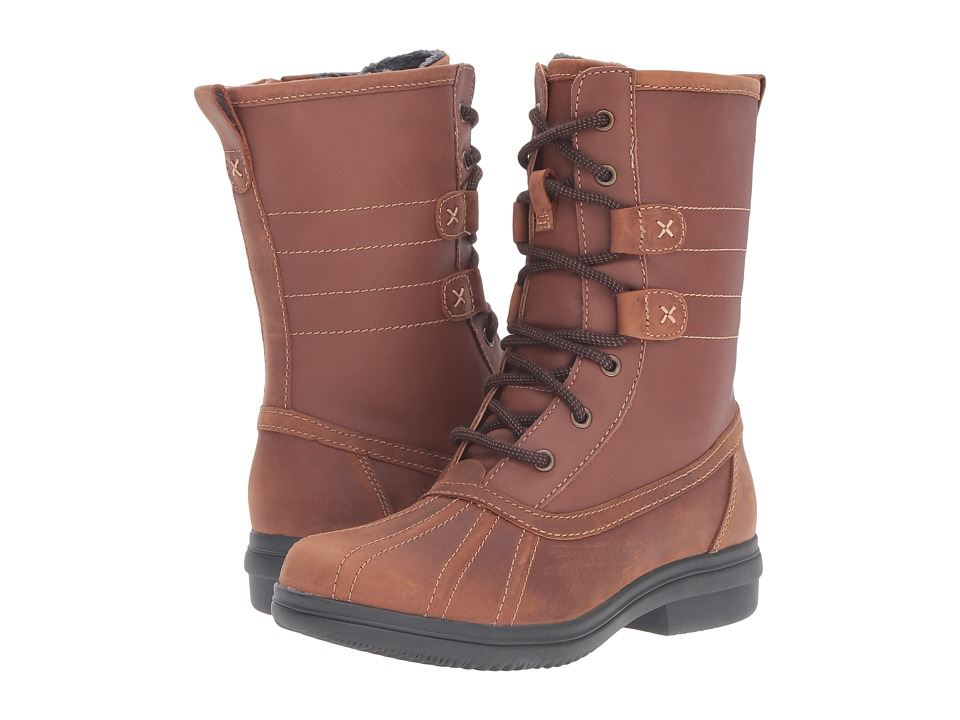 Clarks - Tavoy Juniper (Brown/Tan Leather Combo) Women