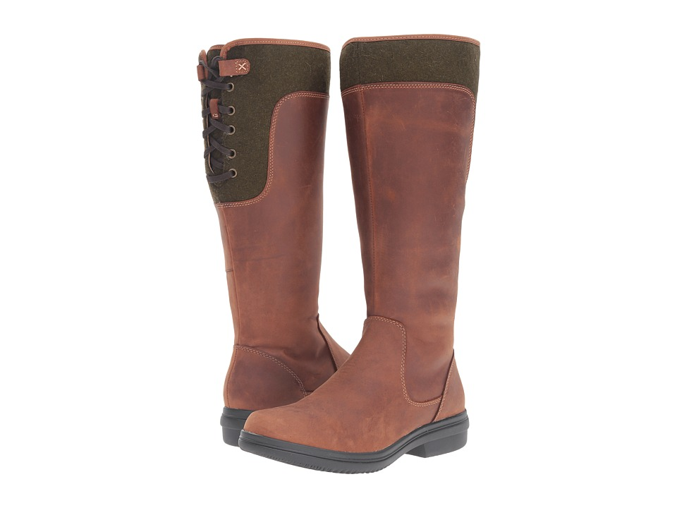 Clarks - Tavoy Cedar (Tan Leather) Women
