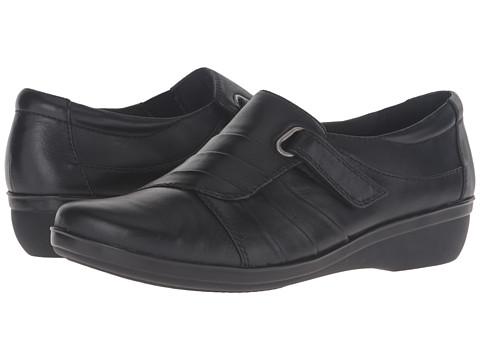 Clarks Everlay Luna - Black Leather