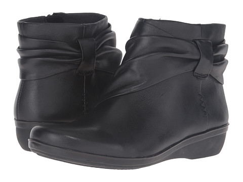 Clarks Everlay Mandy - Black Leather