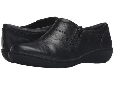 Clarks Fianna Ellie - Black Leather
