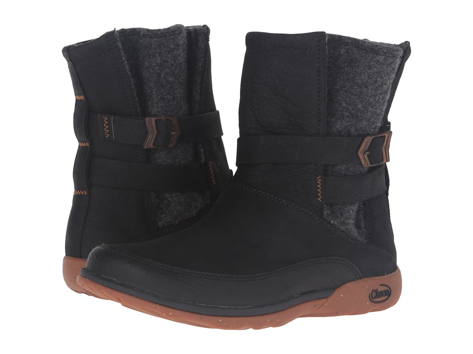 Chaco Hopi (Black) Women's Pull-on Boots