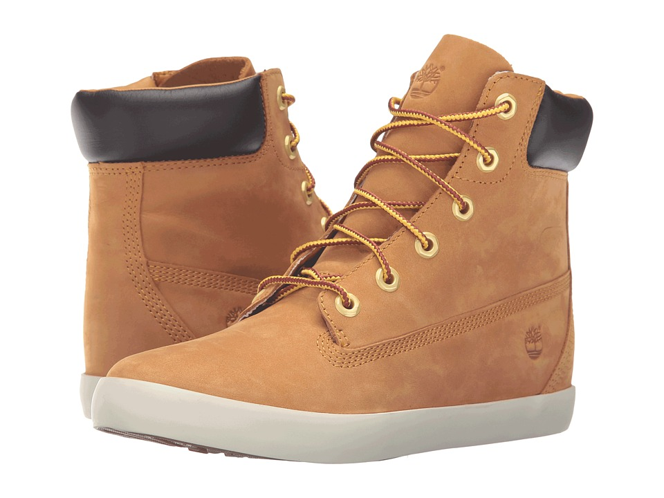 Timberland - Flannery 6 Boot (Wheat Nubuck) Women