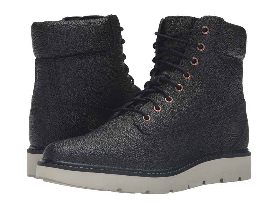 Timberland - Kenniston 6 Lace-Up Boot (Black Helcor Leather) Women