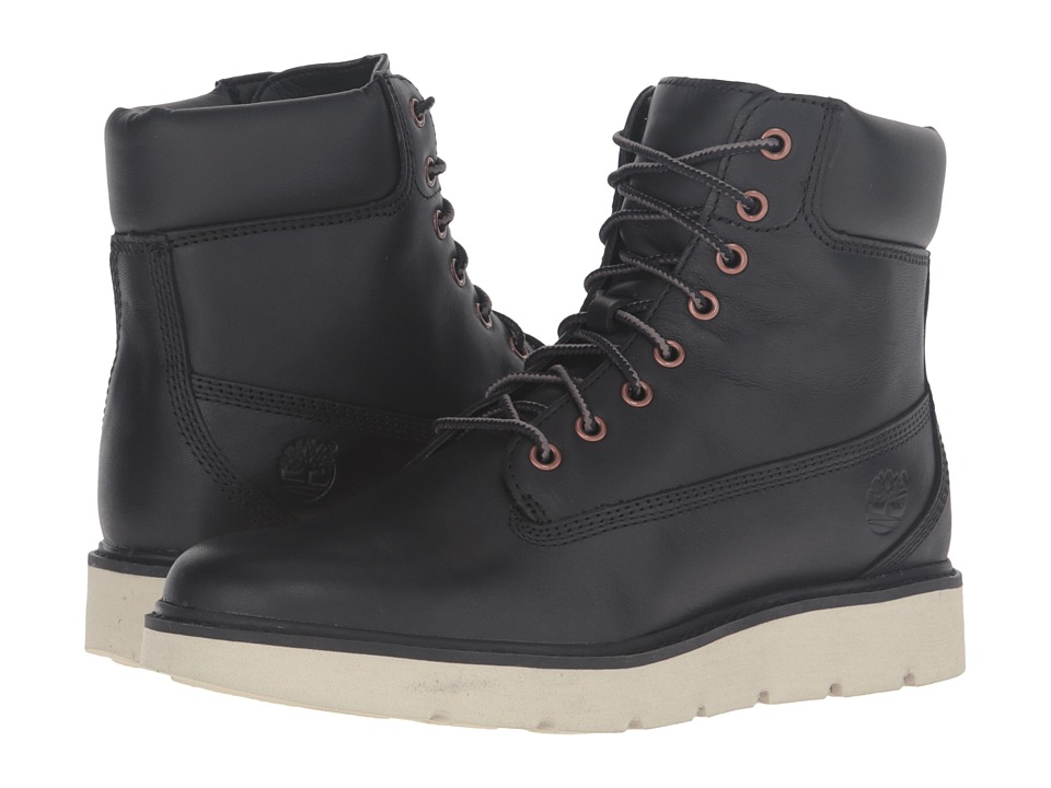 Timberland Kenniston 6 Lace-Up Boot (Black Full Grain) Women