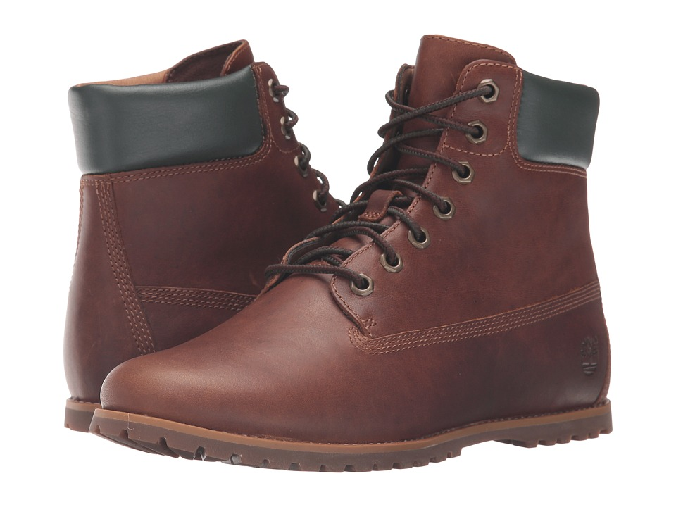 Timberland - Joslin 6 Boot (Dark Brown Full Grain) Women