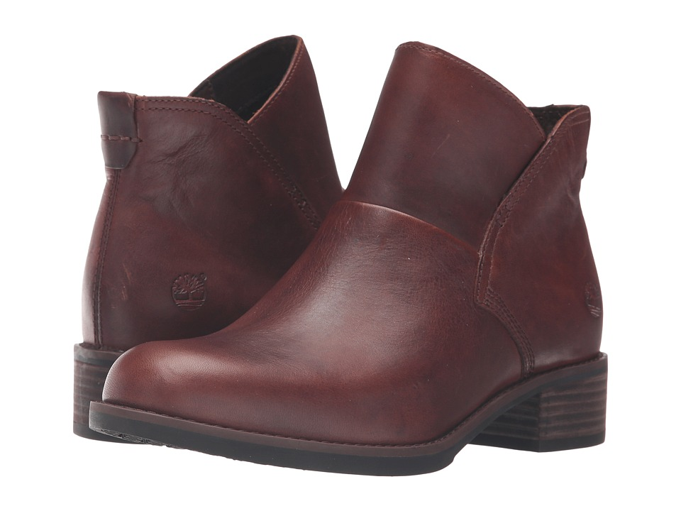 Timberland - Beckwith Side Zip Chelsea Boot (Medium Brown Full Grain) Women