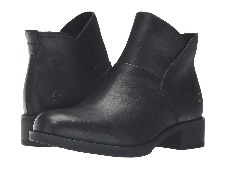 Timberland - Beckwith Side Zip Chelsea Boot (Black Full Grain) Women