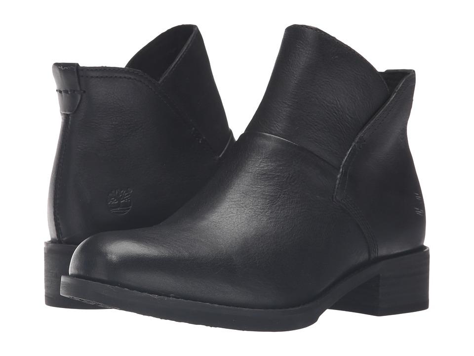 Timberland Beckwith Side Zip Chelsea Boot (Black Full Grain) Women