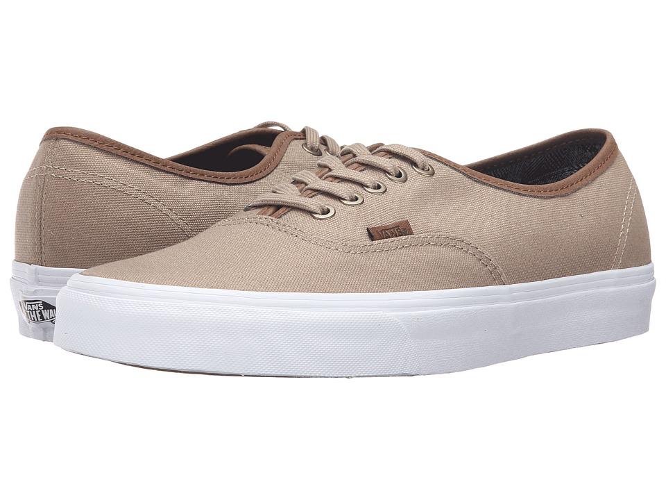 Vans - Authentic ((C&L) Silver Mink/True White) Skate Shoes