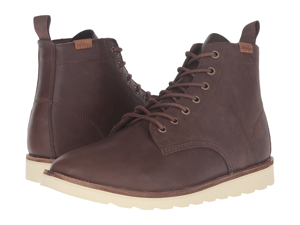 Vans Sahara Boot (Brown Leather) Men