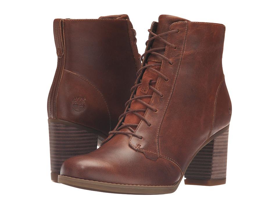 Timberland - Atlantic Heights Lace Chukka Boot (Medium Brown Full Grain) Women