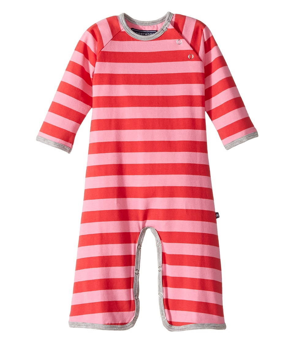 Toobydoo Angie Jumpsuit Infant Fuchsia/Red Girls Jumpsuit Rompers One Piece