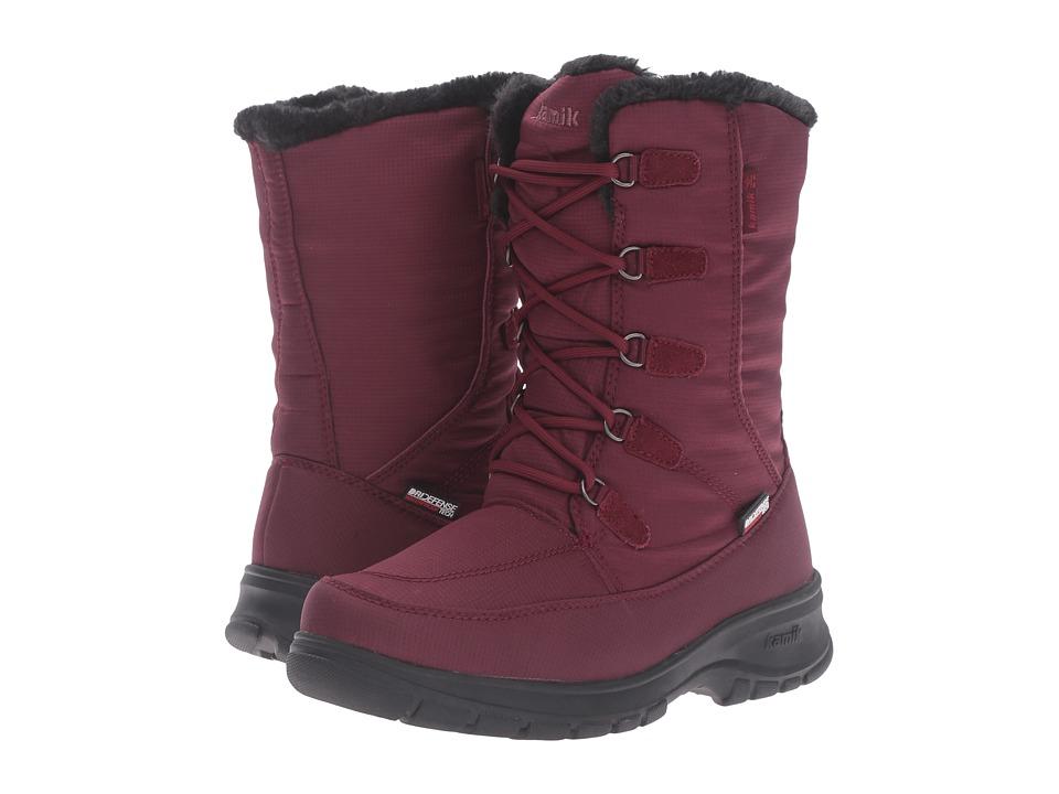 Kamik Brooklyn (Burgundy) Women's Boots