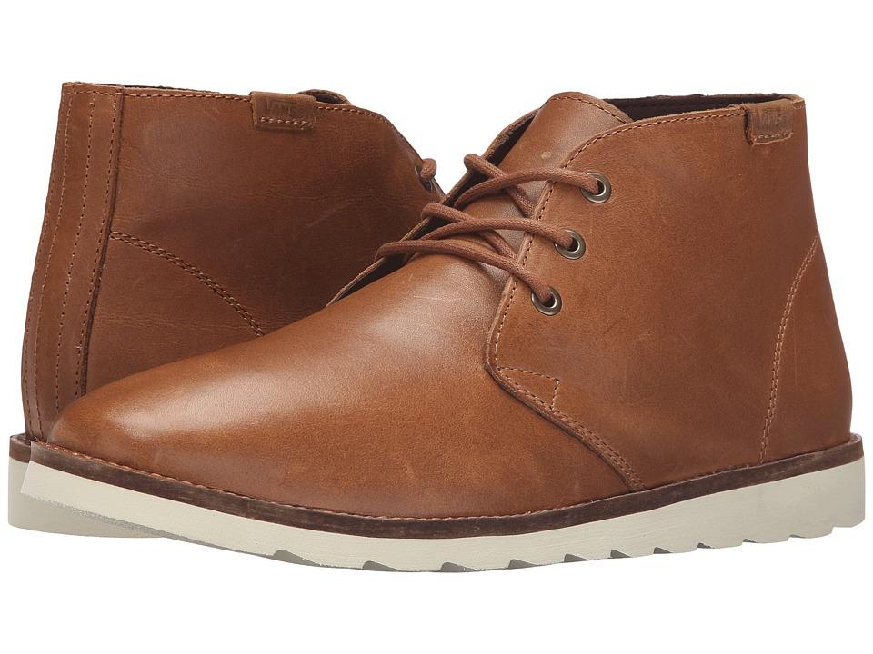 Vans Desert Chukka (Brown Leather) Men