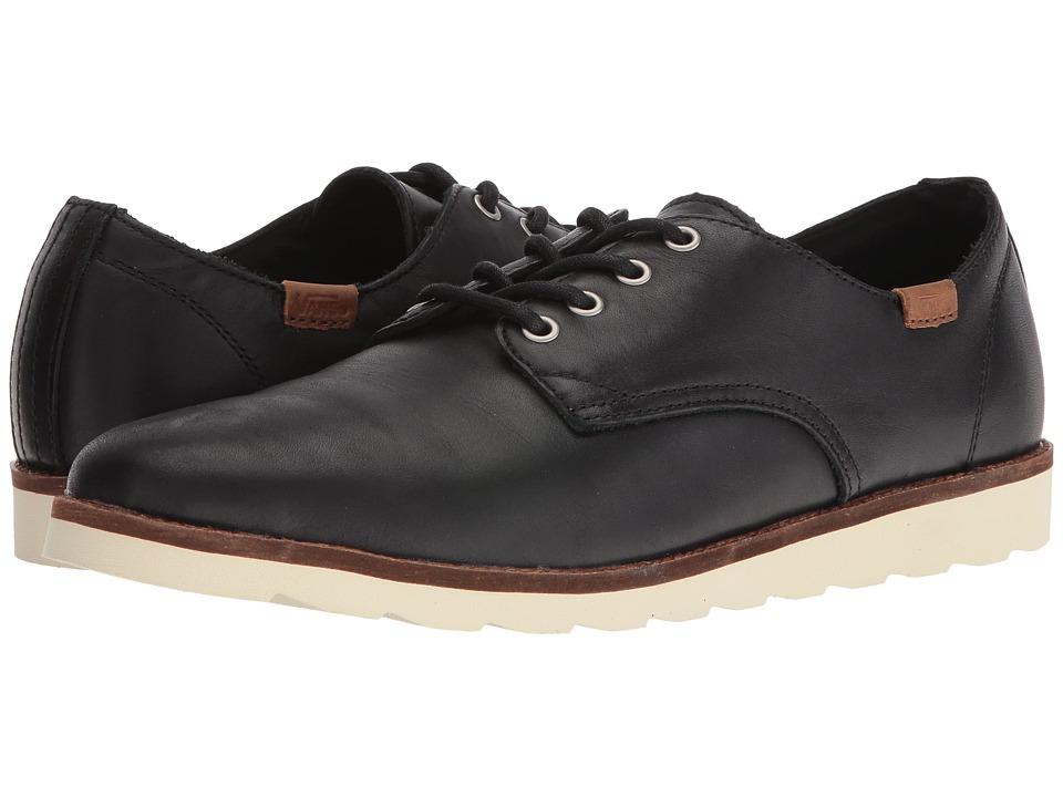Vans - Desert Point (Black Leather) Mens Shoes