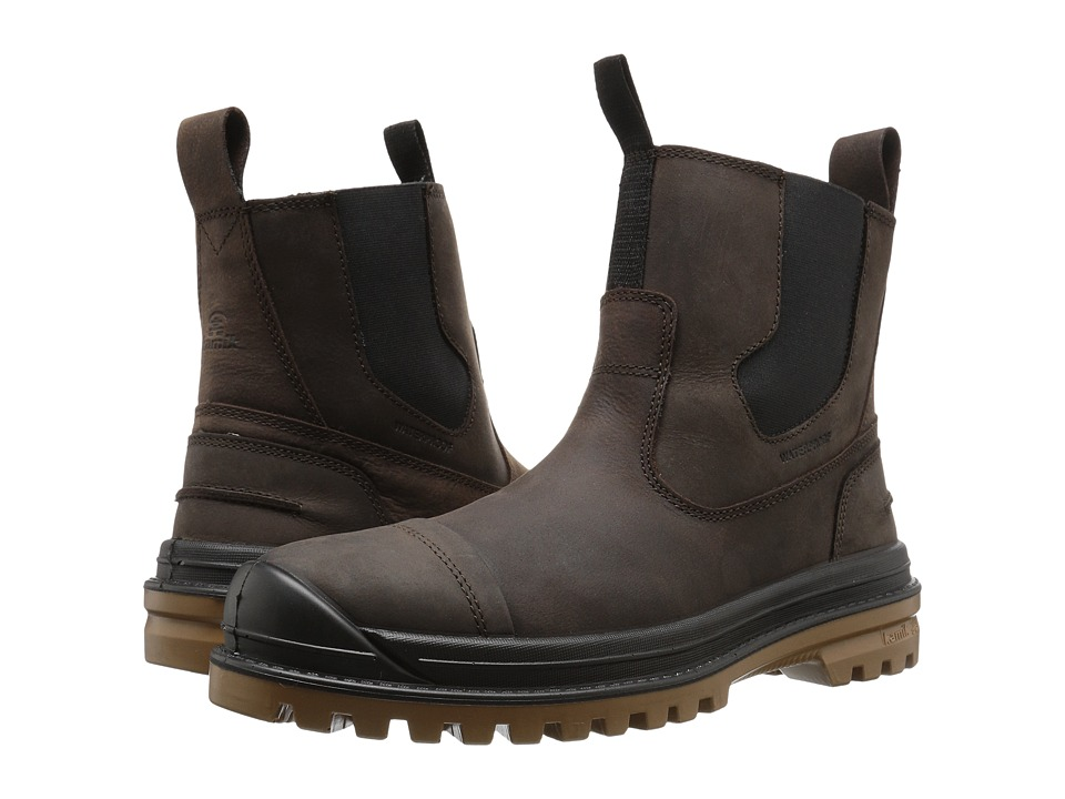 Kamik - Griffon C (Dark Brown) Mens Pull-on Boots