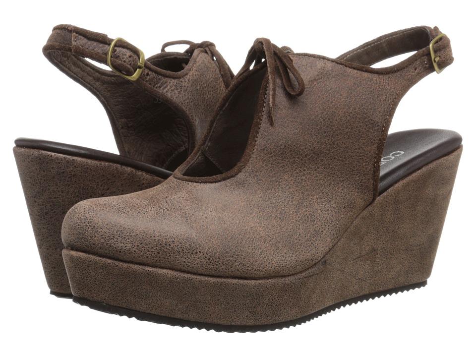 Cordani Fancy Brown Womens Wedge Shoes