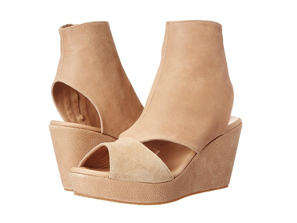 Cordani Fen Cr me Nubuck Womens Wedge Shoes