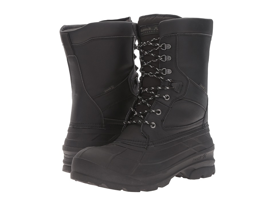 Kamik - Nationpro (Black) Mens Waterproof Boots