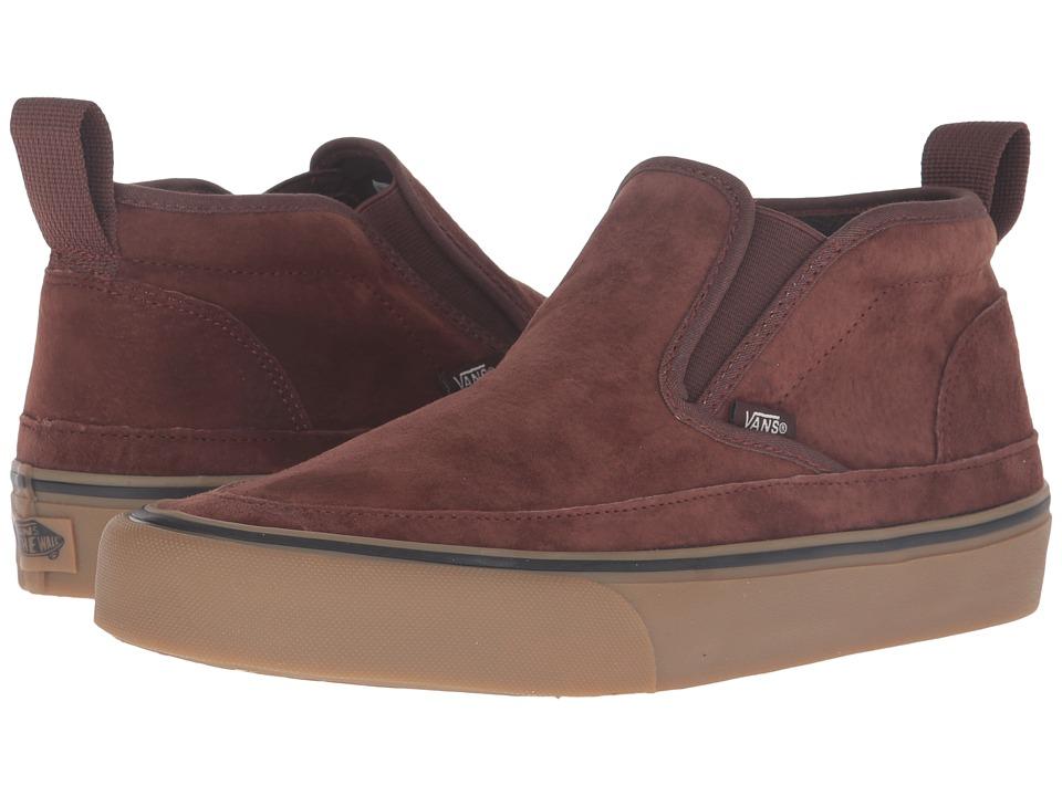 Vans Mid Slip SF (Brown/Light Gum) Men
