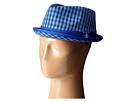Original Penguin Mini Cheque Porkpie Hat (Directoire Blue)