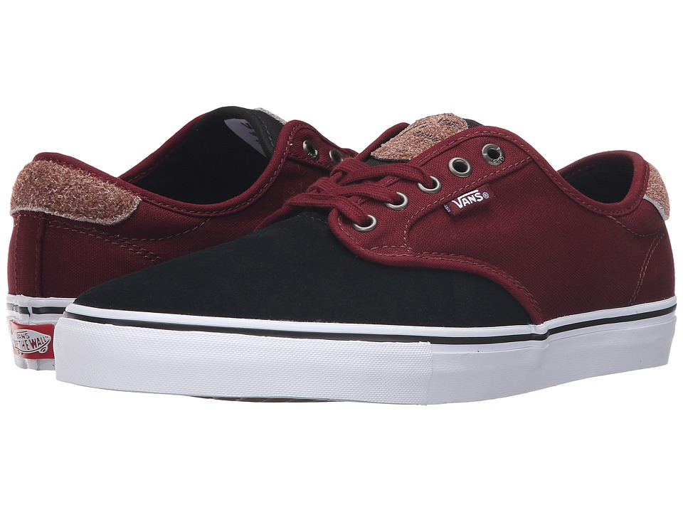 Vans - Chima Pro ((Two-Tone) Black/Port) Men