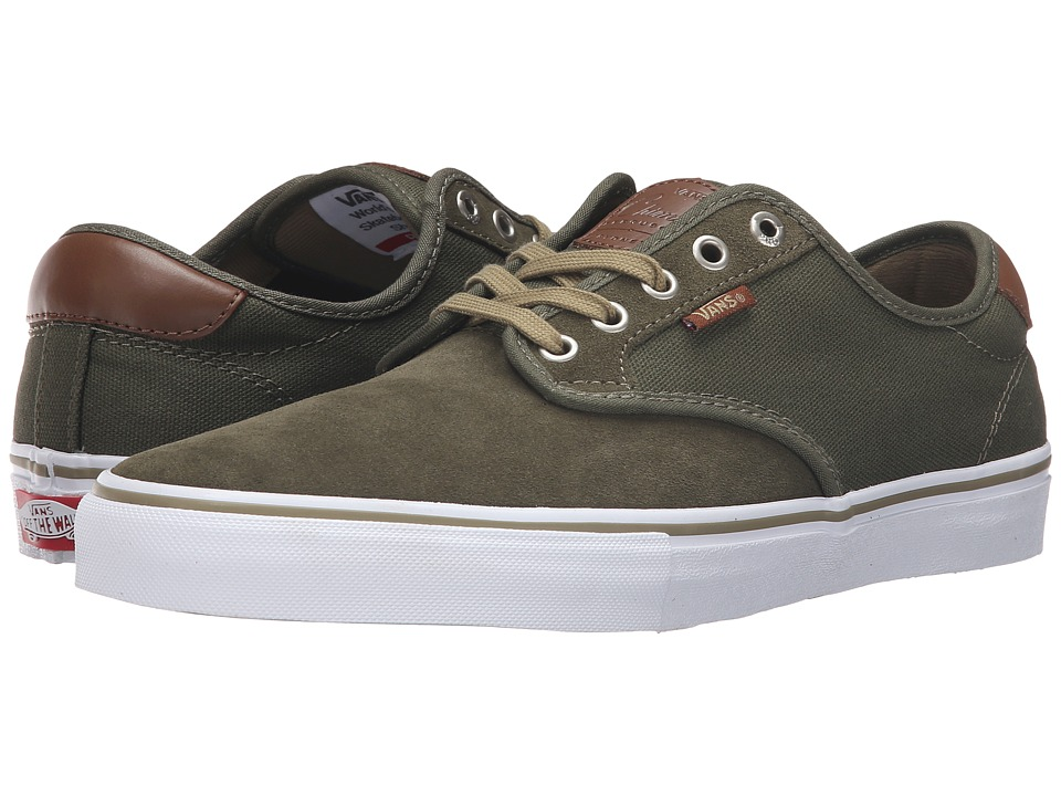 Vans - Chima Pro (Ivy Green/White) Men