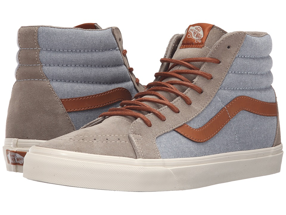 Vans - Sk8-Hi Reissue DX ((Brushed) Blue Mirage/Desert Taupe) Men