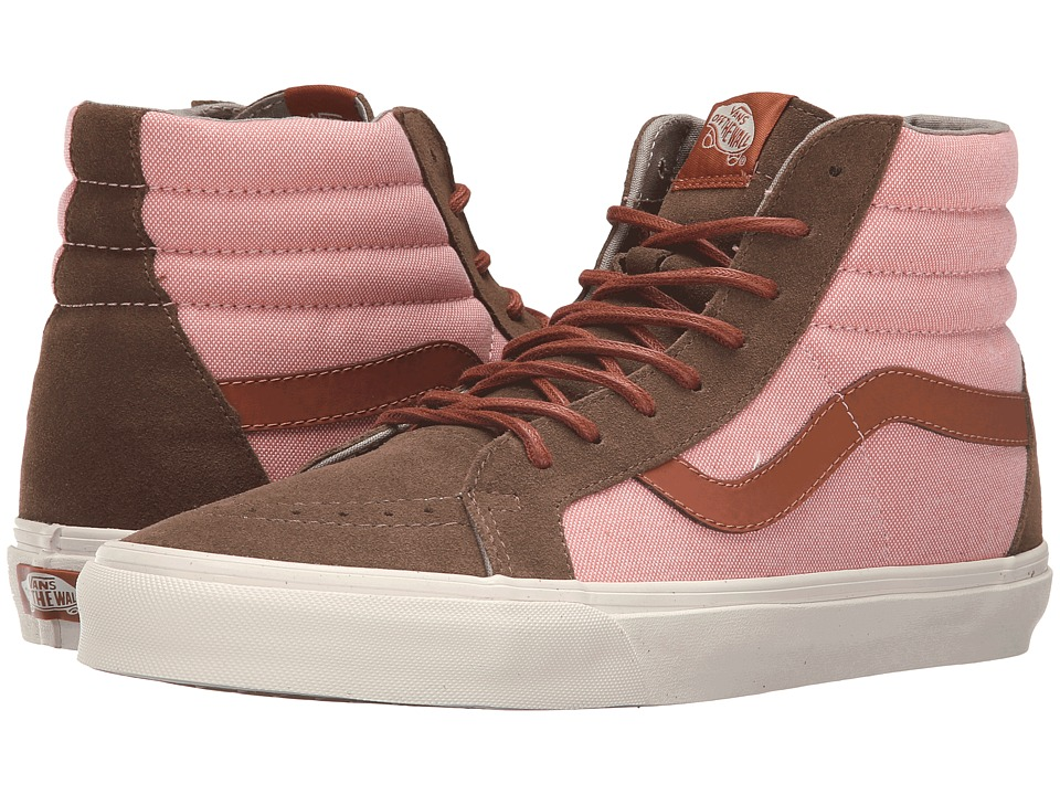 Vans - Sk8-Hi Reissue DX ((Brushed) Teak/Burnt Coral) Men