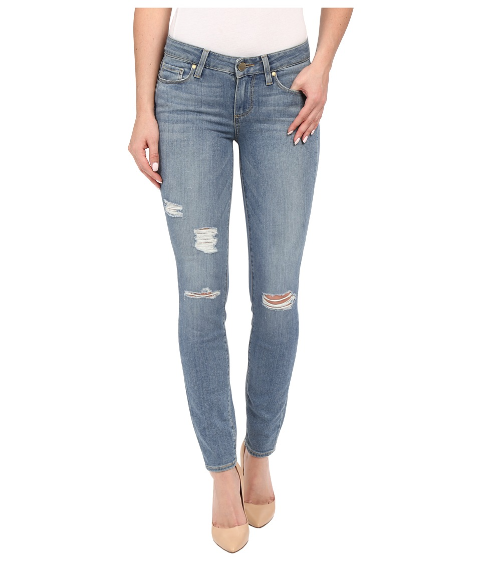 Paige Verdugo Ankle in Annora Destructed Annora Destructed Womens Jeans